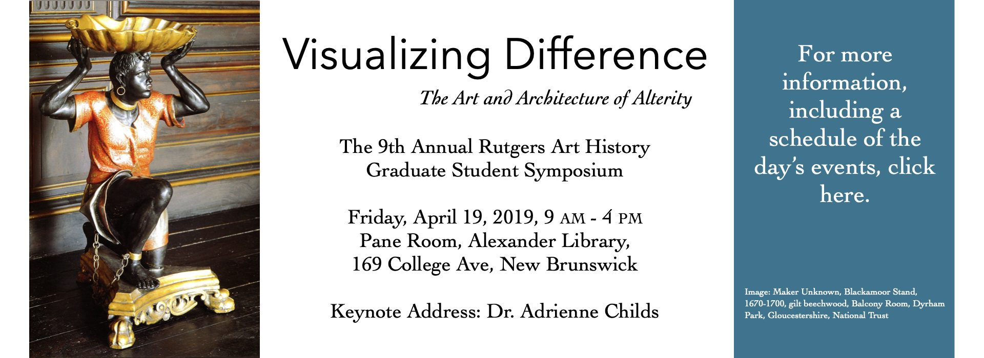 Permalink to: Annual Rutgers Art History Graduate Student Symposium: Visualizing Difference
