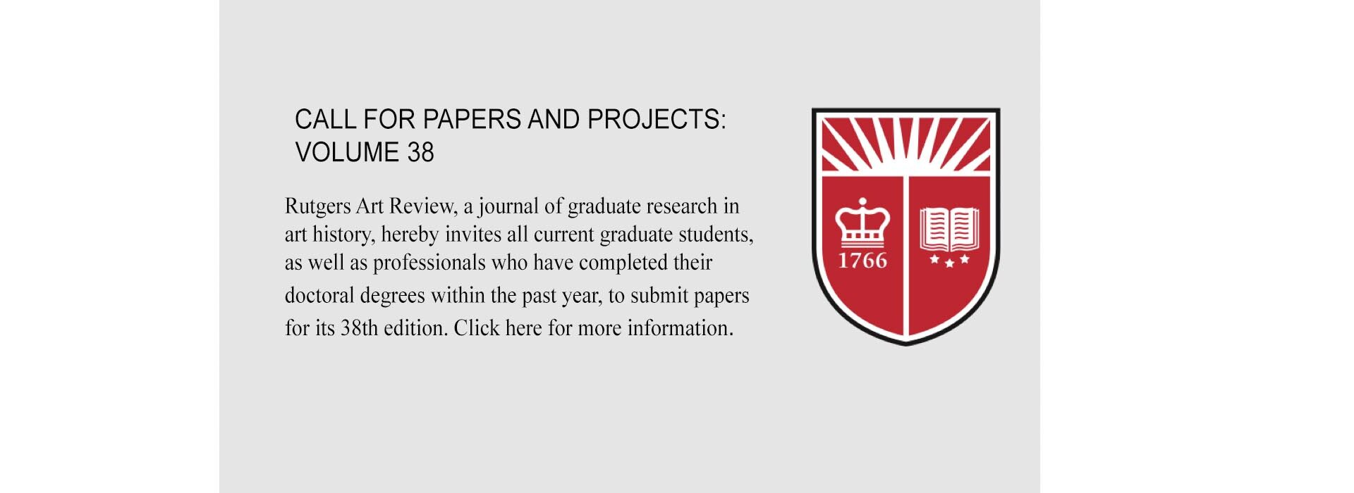 Permalink to: Call for Papers and Digital Projects